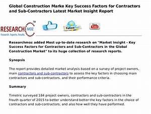 Global Construction Marke Key Success Factors for ...
