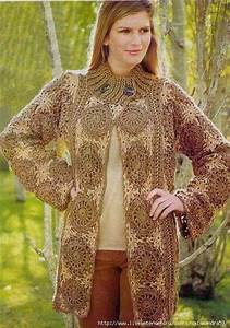 Russian Pattern With Diagram With Circle Motif Crochet