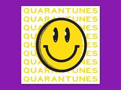 Spotify Playlist Happy Dribbble Playlists Face Quarantine