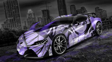 Anime Car Wallpaper - toyota ft 1 anime aerography city car 2014 el tony