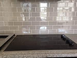 subway tile kitchen backsplashes grey subway tile backsplash decofurnish