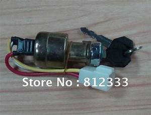 Jk 311a 3 Wire Key Switch Large Current Ignition Key