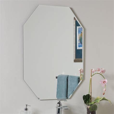 Octagon Bathroom Mirror by Decor 23 6 In Octagonal Bathroom Mirror At
