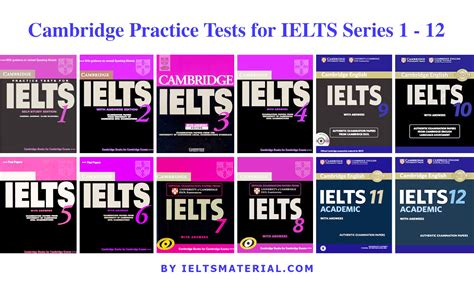 test ielts cambridge practice tests for ielts series 1 12 with