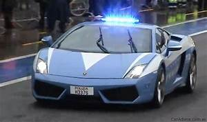 Video: Lamborghini Gallardo LP560-4 police car hits Monza ...