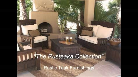 eco friendly reclaimed teak furniture rustic commercial