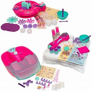 Sweet Care Manicure Pedicure Set Girls Hands Spa Foot