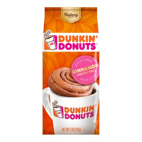 Our dunkin' donuts assorted flavors: Dunkin' Donuts® Bakery Series® Cinnamon Coffee Roll ...