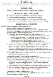 Resume For An Executive Business Director Susan Ireland