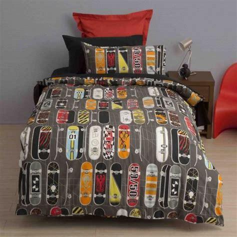 squiggles skateboards duvet cover  sleep store