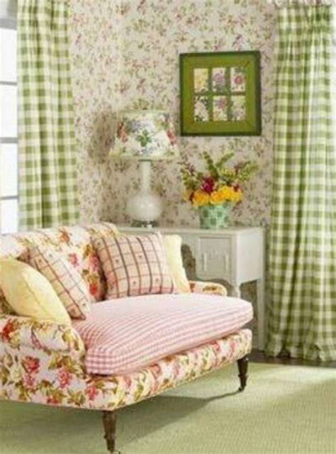 english cottage style beautifully mixed prints pure