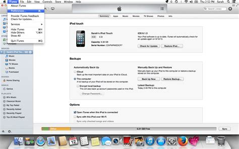 itunes phone backup getting ready for ios 7 how to backup your device and set