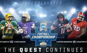 FCS Semifinals, Division II and Division III Football ...