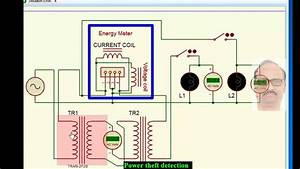 Electricity Theft Detection Circuit