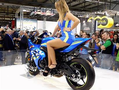 Motorcycle Eicma Suzuki Ducati Motogp Ragazze Gsx