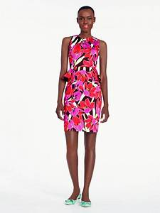 Paper truffles loves the tropical peplum sheath dress for Tropical wedding guest dresses