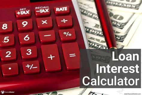 loan interest calculator