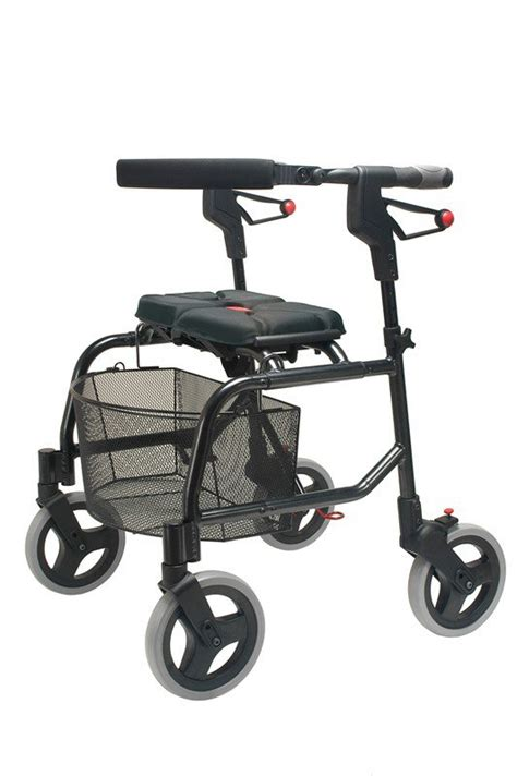 100 100 walgreens rollator transport chair