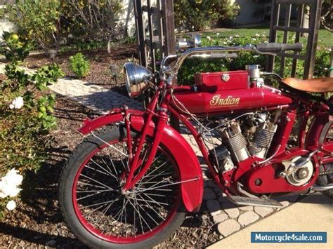 1915 Indian Big Twin 1000cc For Sale In Canada