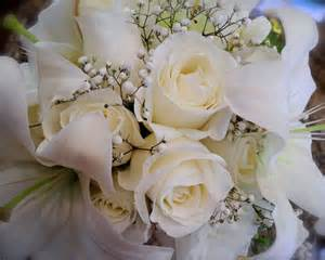 white flowers for wedding the flower white bridal bouquet