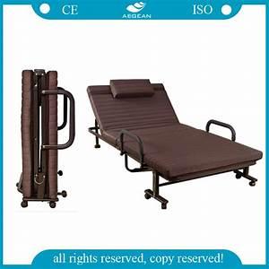 China Cheapest Hospital Portable Manual Folding Bed  Ag