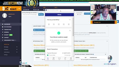 Selling 1 bitconnect you get 0.000011 bitcoin at 22. HOW TO TRANSFER BITCOIN OUT OF BITCONNECT ON TO MY BITPAY CREDIT CARD💰 - YouTube