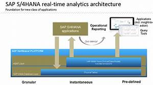 Sap S4 Hana In A Nutshell