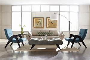 mid century modern design style bethvictoriacom With design chairs for living room