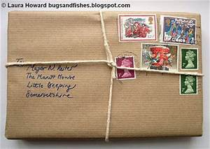Bugs and Fishes by Lupin Gift Wrap Ideas 4 Vintage Stamps