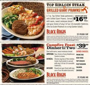 Black Angus Printable Coupons | 2016 - 2017 Best Cars Review