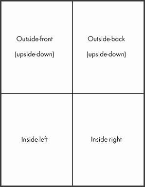 fold card template microsoft word