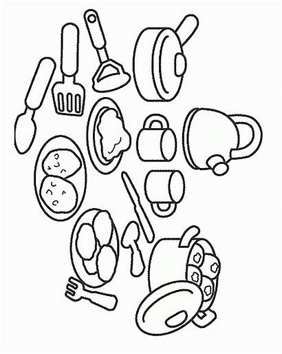 Cooking Baking Coloring Pages Coloring2print