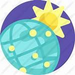 Premium Globe Earth Icon Flat Icons