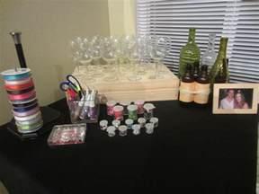 diy monogram wine glasses wine tasting party diy inspired