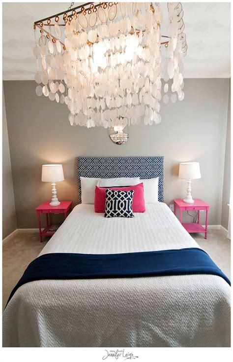 Navy And Pink Bedroom by Navy And Pink Bedroom With Chandelier Bedrooms