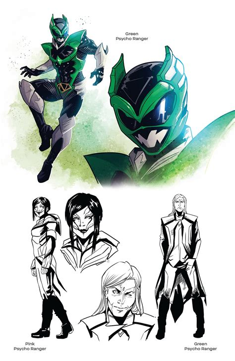 Read online Saban's Power Rangers: The Psycho Path comic ...