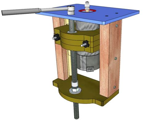 router lift   woodworking plans