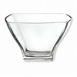 Saladier En Verre : saladier design en verre transparent vaisselle chic et tendance ~ Teatrodelosmanantiales.com Idées de Décoration