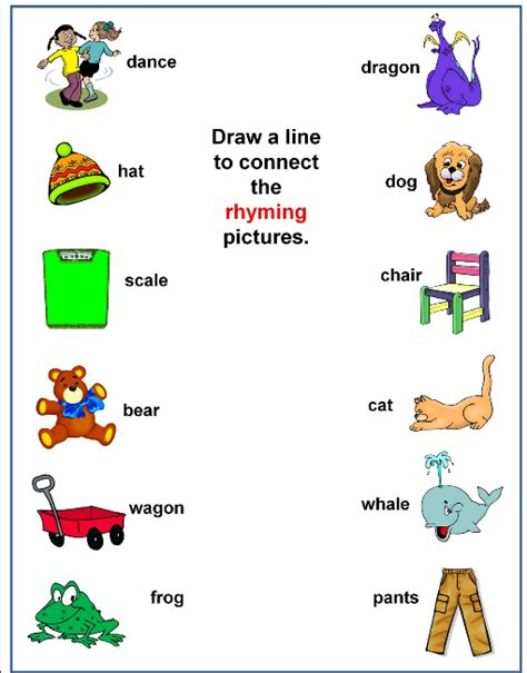 sle requirements lesson plan rhyming