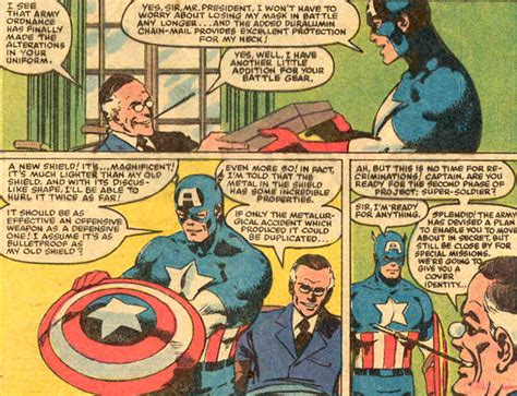 marvel how was the proto adamantium in captain america 39 s