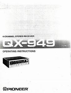 Used Pioneer Qx 949 For Sale