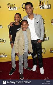 Tyrel Jackson Williams, guest, and Tyler James Williams ...