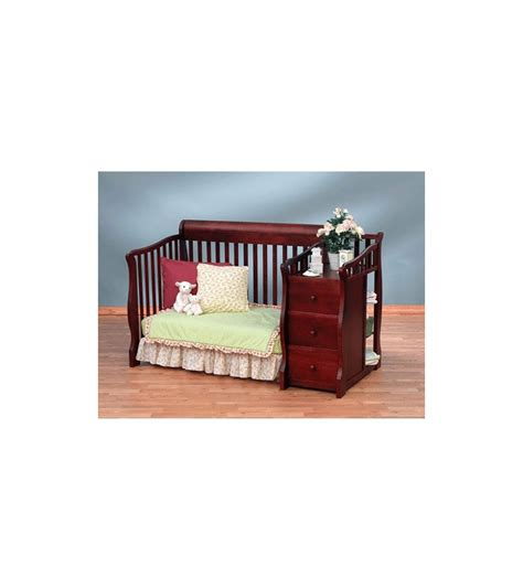 Sorelle Verona Dresser Combo by Sorelle Tuscany 4 In 1 Convertible Crib Combo In Cherry