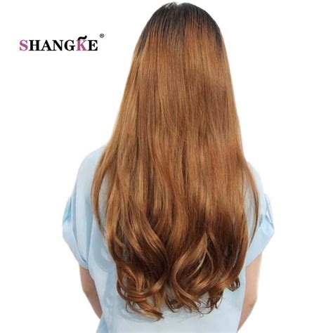 Shangke Long Wavy 2 Clips In Hair Extensions Natural Clip