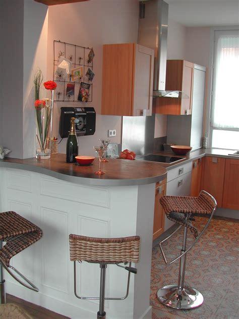 bar bureau cuisine photo 2 3 cuisine nouvellement réalisée