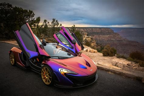 cj wilsons purple mclaren p autofluence