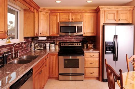 honey maple kitchen cabinets honey maple cabinets with granite countertop sewell nj 4323