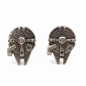 Faucon Millenium Star Wars : boutons de manchette faucon millenium star wars ~ Melissatoandfro.com Idées de Décoration