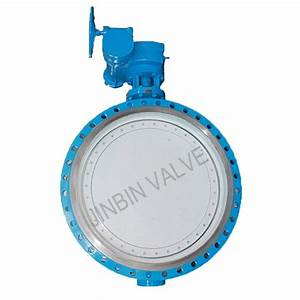 Double Offset Butterfly Valve With Rubber Seat From