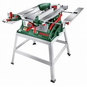 Bosch scie sur table pts10t 1400w socle achat vente for Scie sur table maison 2 scie sur table